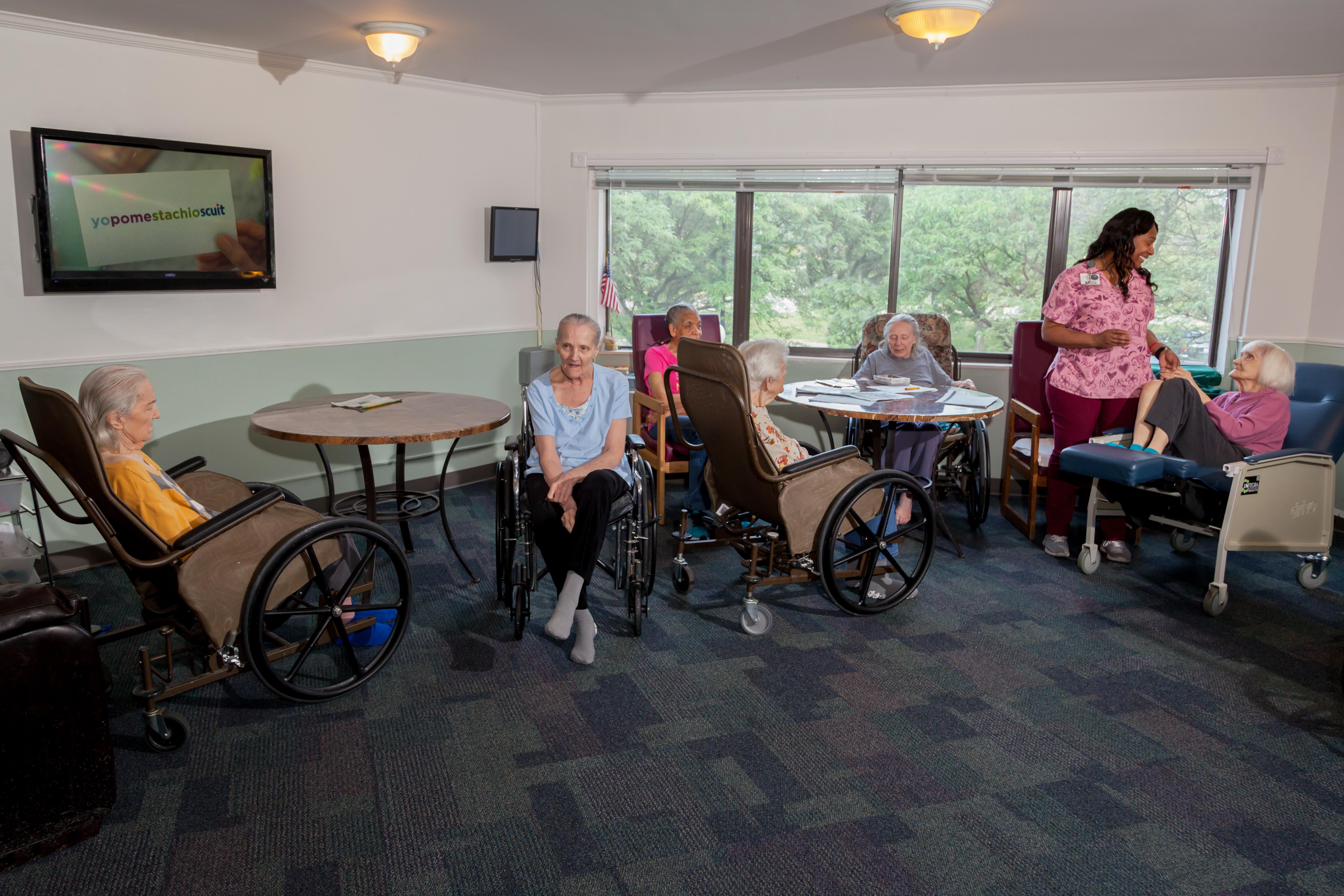 Skilled Nursing - Autumn Woods Health Care Facility on greenhouse model nursing home, wall art for nursing home, wagon wheel design plans nursing home,